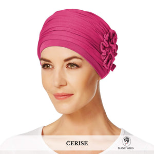 Christine Headwear Lotus Turban 254-Cerise