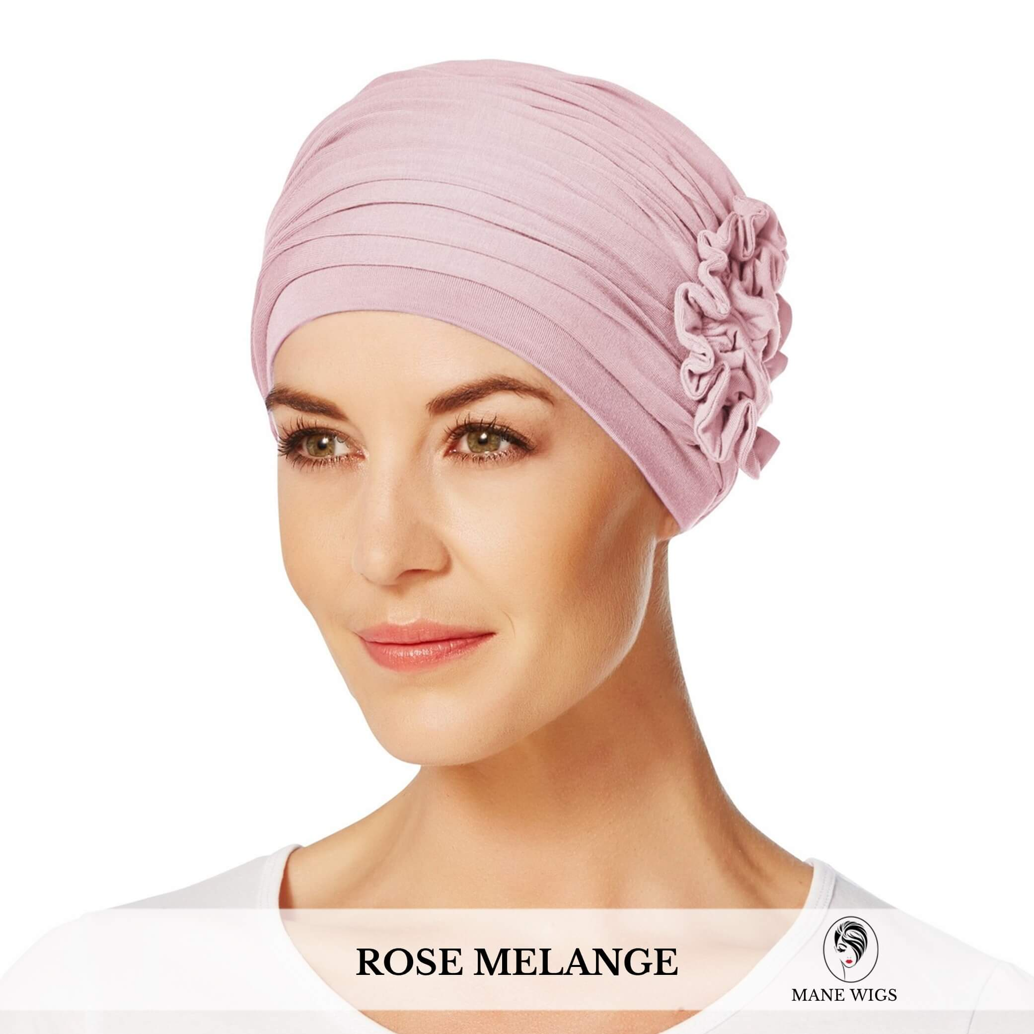 Christine Headwear Lotus Turban 320-Rose Melange