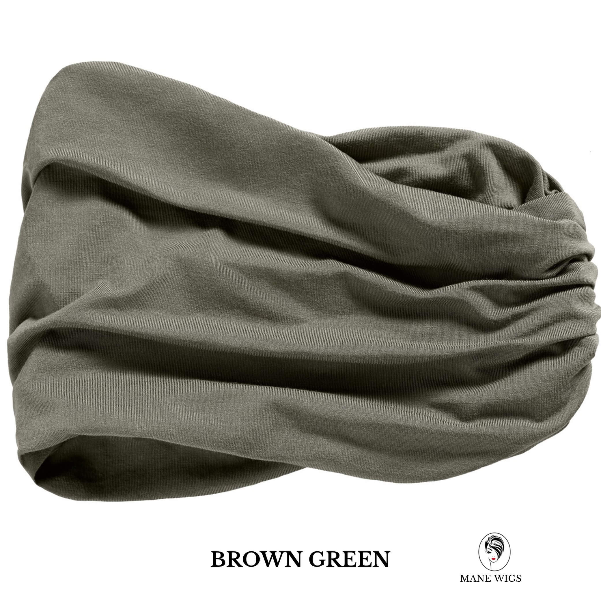 Christine Headwear Chitta Headband 338-Brown Green