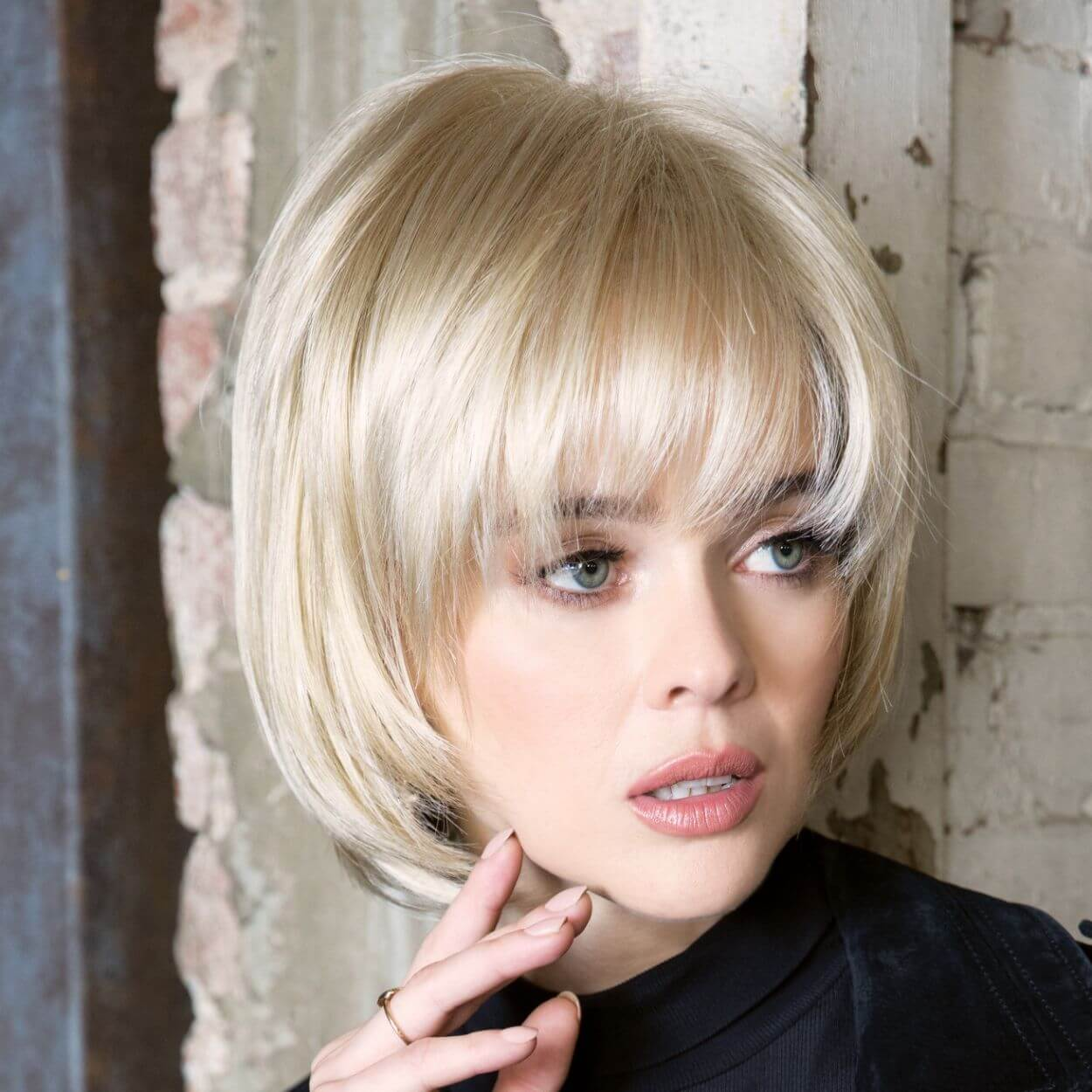Shannon by Rene of Paris in Creamy Blonde Image 2