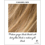 Load image into Gallery viewer, Caramel Mix-Medium ginger blonde blended with dark golden blonde a medium gold blonde