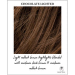 Load image into Gallery viewer, Chocolate Lighted-Light reddish brown highlights blended with medium dark brown & medium reddish brown