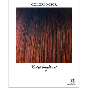 10/130R-Rooted bright red