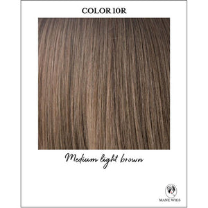 10R-Medium light brown