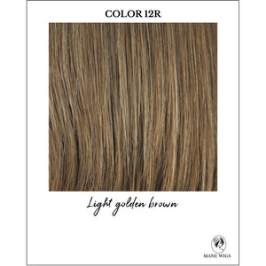 12R-Light golden brown