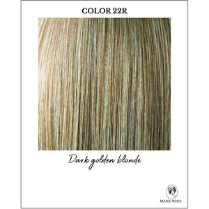 22R-Dark golden blonde