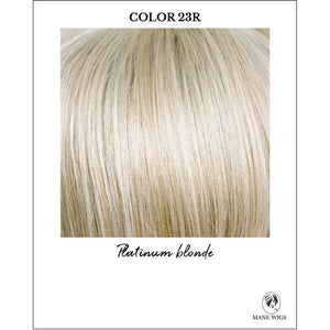 23R-Platinum blonde