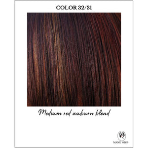 32/31-Medium red auburn blend