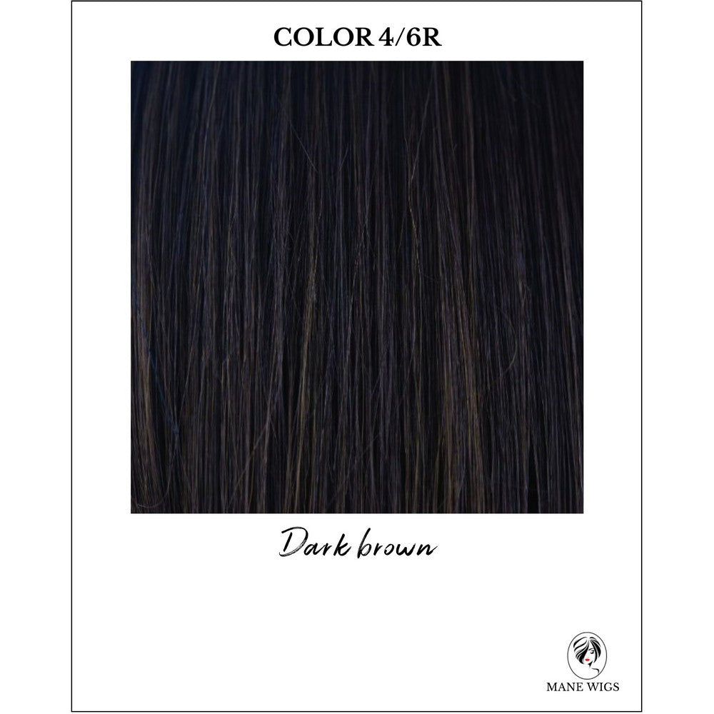 4/6R-Dark brown