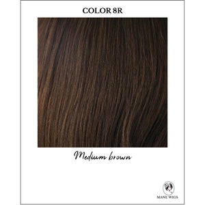 8R-Medium brown