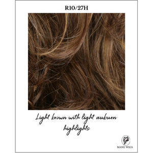 R10/27H-Light brown with light auburn highlights