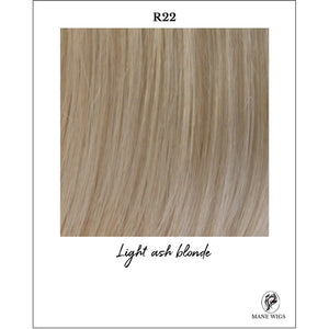 R22-Light ash blonde