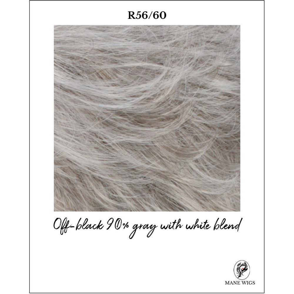 R56/60-Off-black 90% gray with white blend