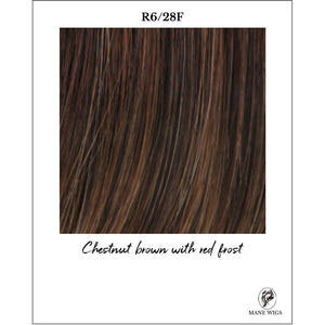R6/28F-Chestnut brown with red frost