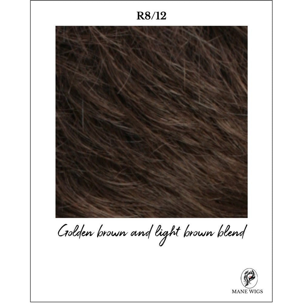 R8/12-Golden brown and light brown blend