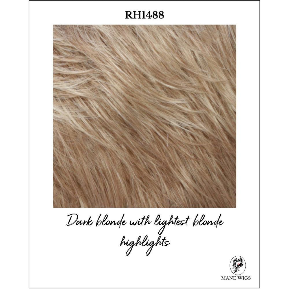 RH1488-Dark blonde with lightest blonde highlights