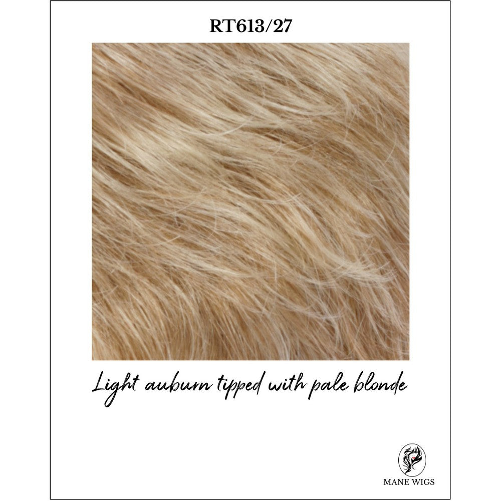RT613/27-Light auburn tipped with pale blonde