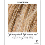 Load image into Gallery viewer, Ginger Mix-Light honey blonde, light auburn, and medium honey blonde blend