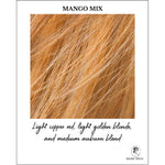 Load image into Gallery viewer, Mango Mix-Light copper red, light golden blonde, and medium auburn blend