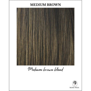 Medium Brown - Medium brown blend