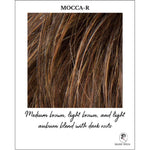 Load image into Gallery viewer, Mocca-R-Medium brown, light brown, and light auburn blend with dark roots