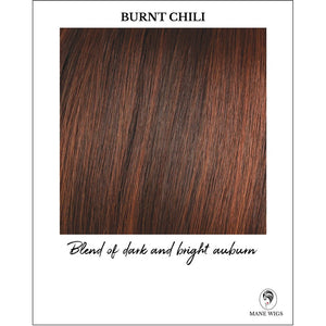 Burnt Chili-Blend of dark and bright auburn