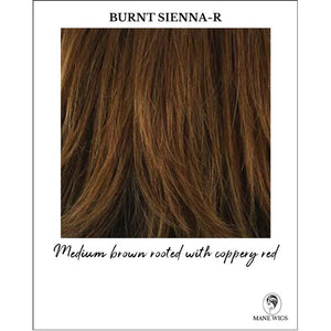 Burnt Sienna-R-Medium brown rooted with coppery red