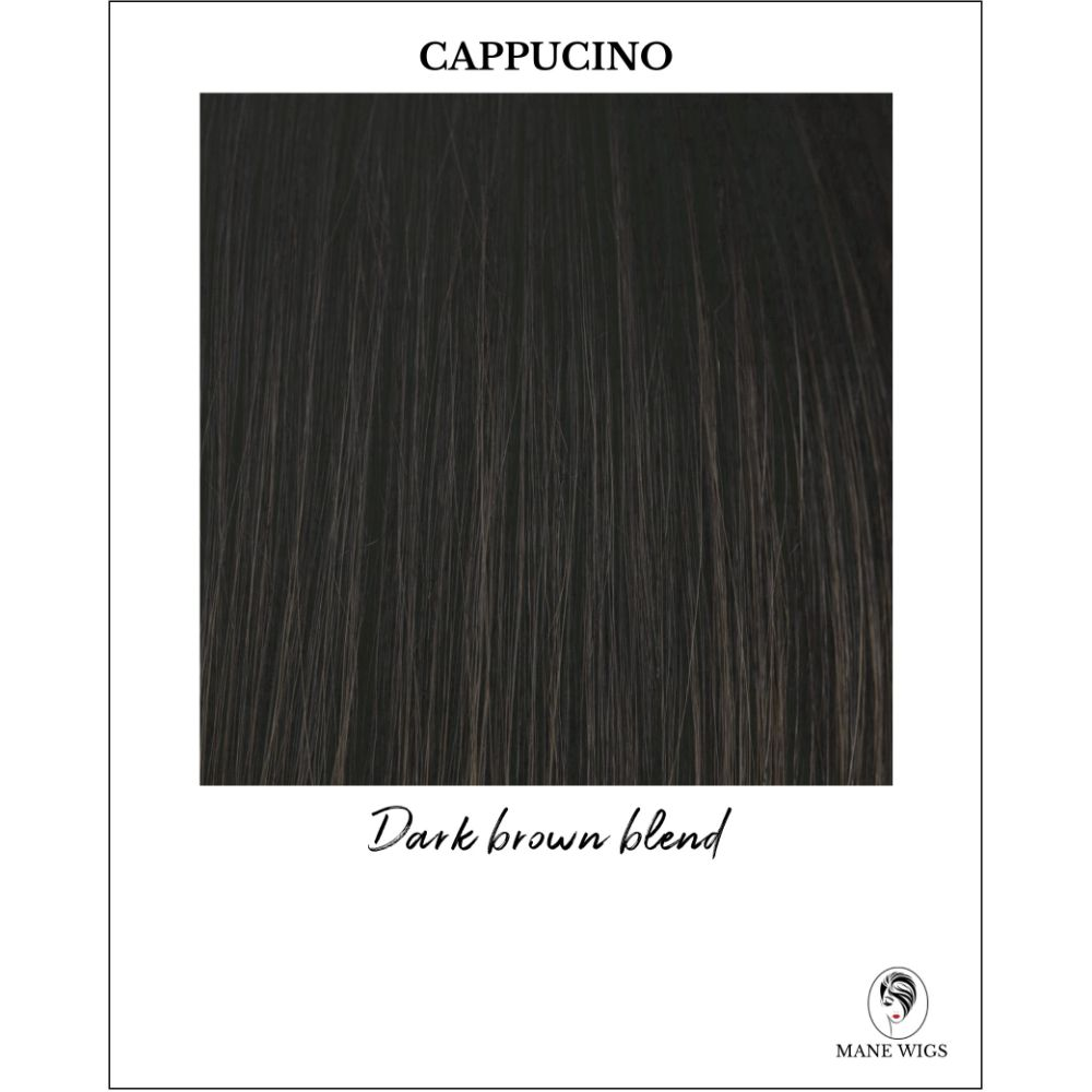 Cappucino-Dark brown blend