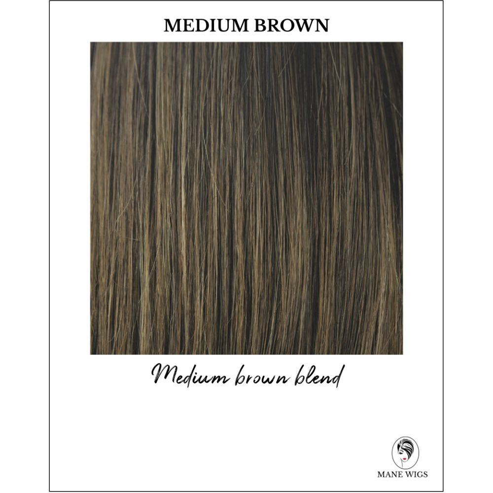 Medium Brown-Medium brown blend
