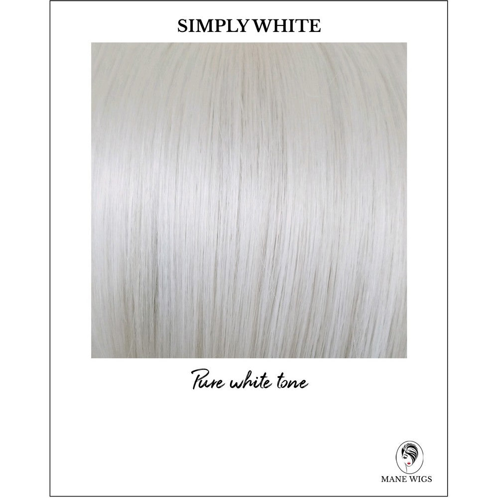 Simply White-Pure white tone