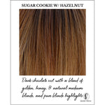 Load image into Gallery viewer, Sugar Cookie with Hazelnut-Dark chocolate root with a blend of golden, honey, & natural medium blonde, and pure blonde highlights