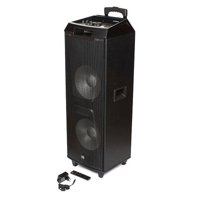 "Dixon Dual 12"" Portable Part Speaker"