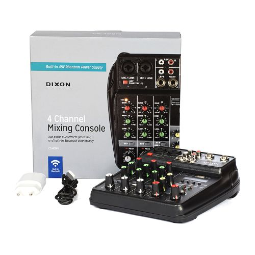 Dixon 4 Channel Mixing Console