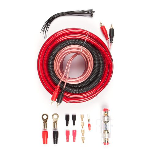 Dixon 2000W 4GA AMP Installation Kit