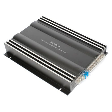 Jebson 1600W 4-Channel Car Amplifier