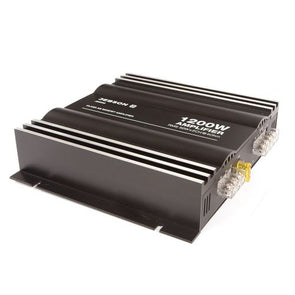 Jebson 1200W 2-Channel Car Amplifier