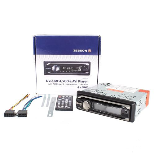 Jebson DVD, MP4, VCD, And AVI Player