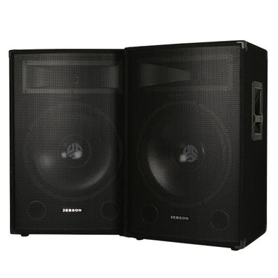 "Jebson 15"" 600W DJ Speakers"