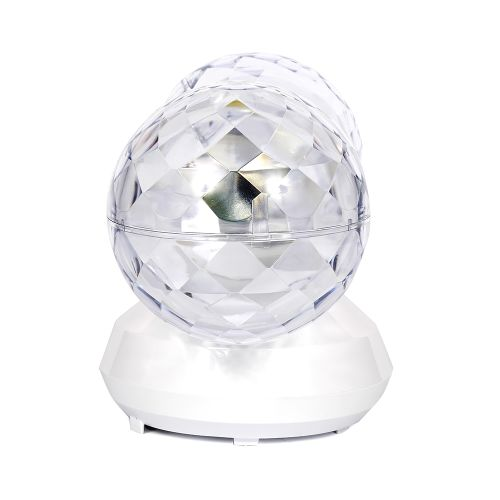 Dixon Twin Rotating Disco Ball Light