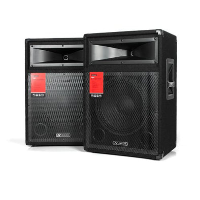 "Dixon 15"" 800W DJ Speakers"