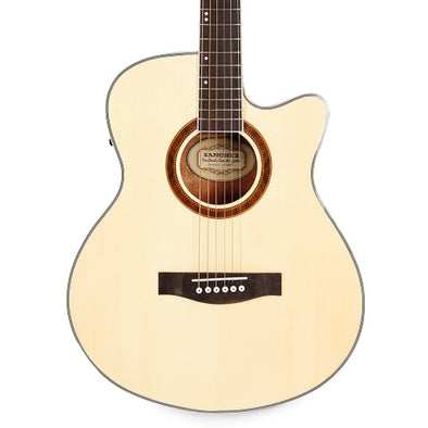 SANCHEZ Jumbo Acoustic Guitar