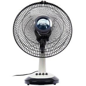 "DIXON 12"" Oscillating Desk Fan"