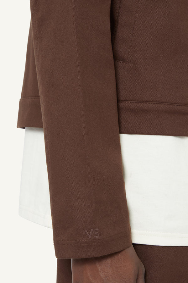 ARIA JACKET - BROWN