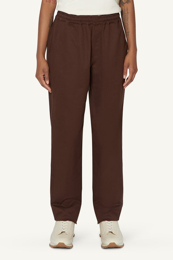ARIA TROUSERS - BROWN