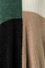 Load image into Gallery viewer, block it off - chenille sweater