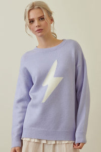 periwinkle lightning bolt