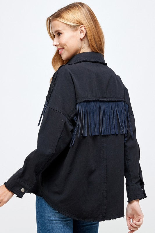 fiesty fringe - midnight