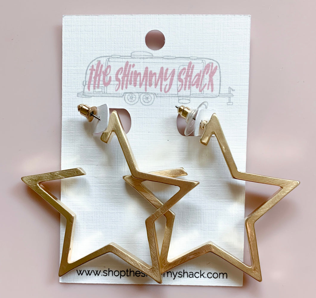 star gazing earrings