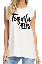 Load image into Gallery viewer, tequila helps tank