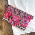 pinky promise beaded clutch